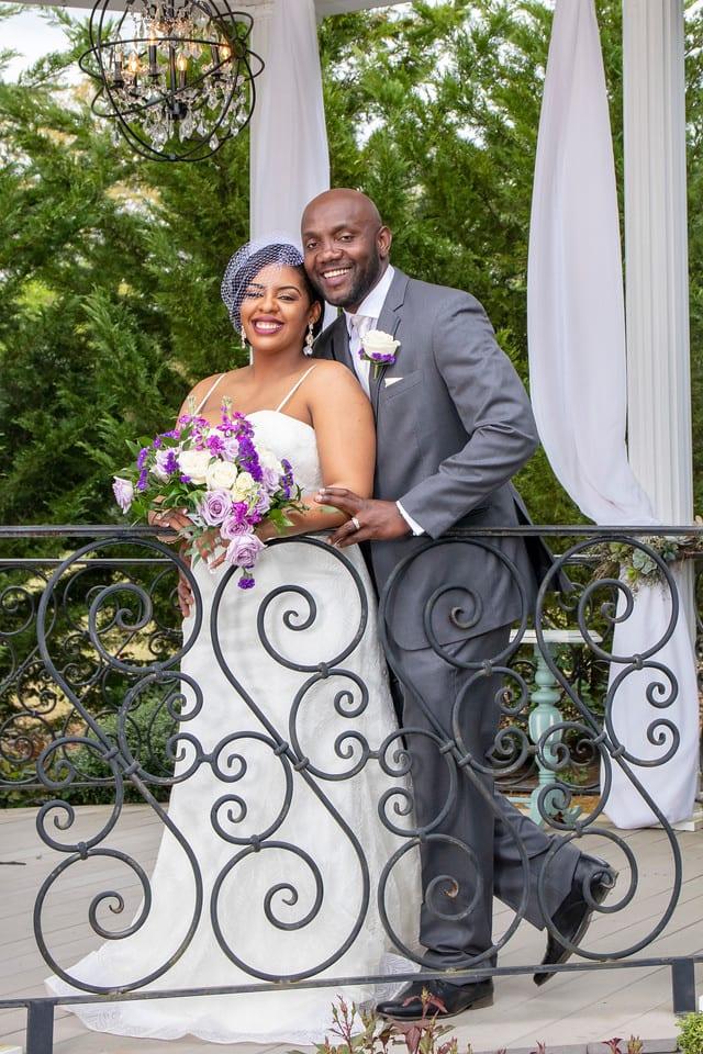 Samantha & Tetley's wedding at Rose Hall Event Center